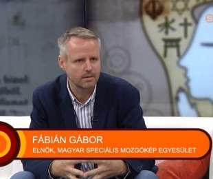 Fábián Gábor elnök a Szombathelyi Televízióban, 2021.09.27.